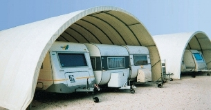 Winter storage of caravans and boats