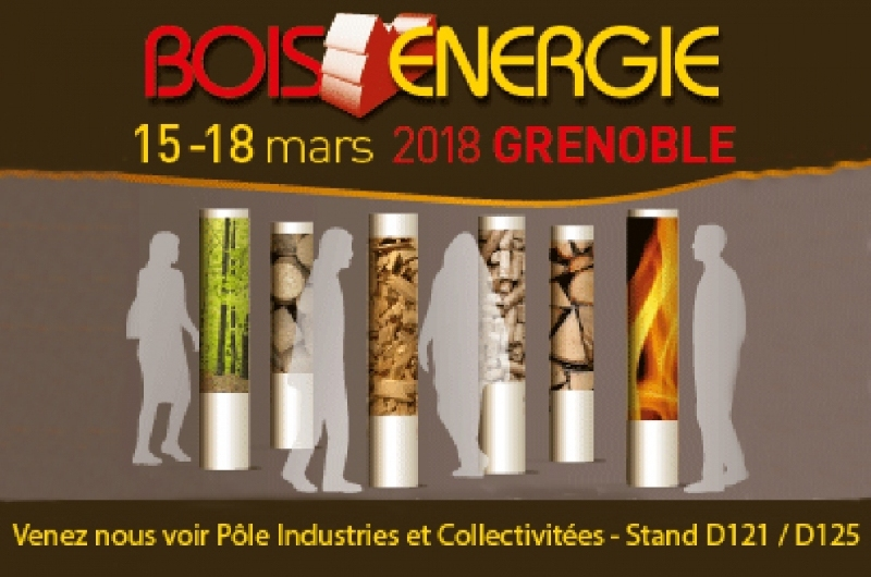 BOIS ENERGIE, France March 2018