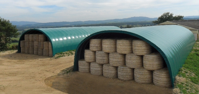Agriculture : Hay and straw storage
