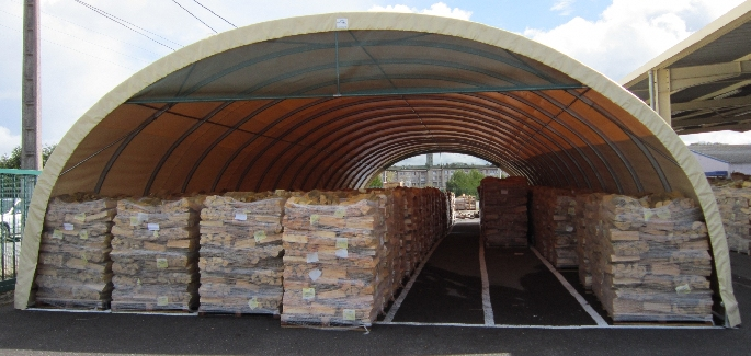 Agriculture : Wood storage