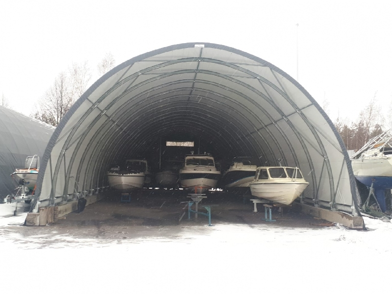 Mobile home and boat winter storage