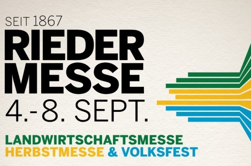 RIEDER MESSE, Austria, September 2019