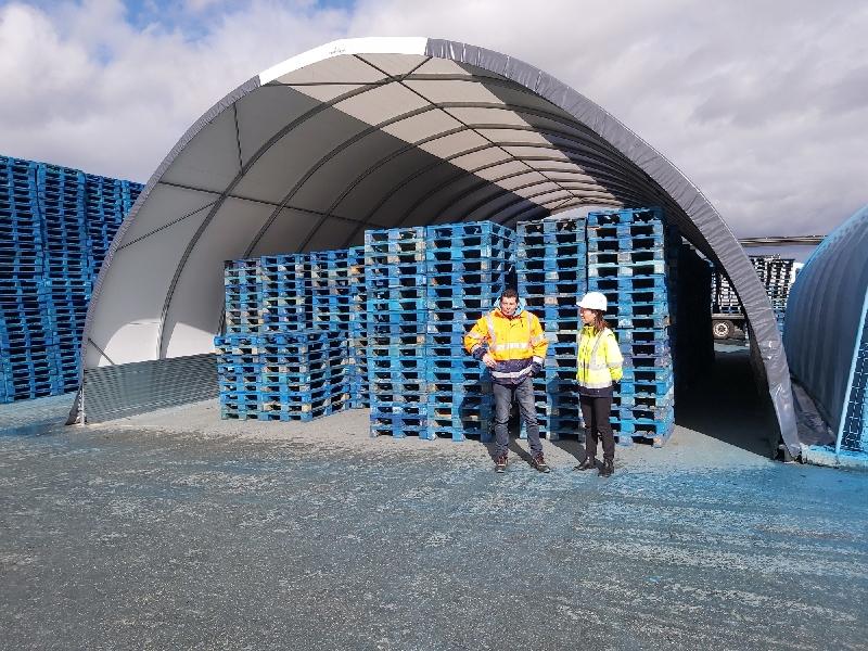 Pallet recycling - FRANCE - SARL CRISPA