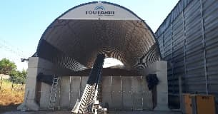 Grain / fertiliser storage